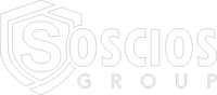 Logo de Soscios Group en Blanco